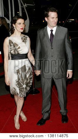 Rachel Weisz and Darren Aronofsky at the AFI Centerpiece Gala Screening of 'The Fountain' held at the Grauman's Chinese Theatre in Hollywood, USA on November 11, 2006.