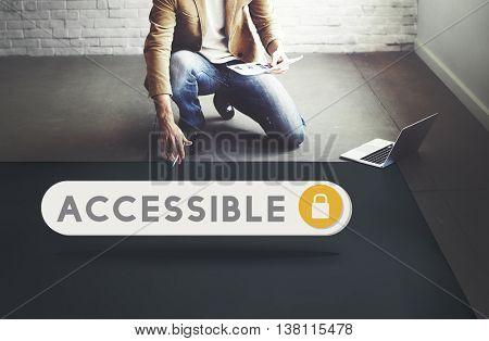 Accessible Permission Verification Security Concept