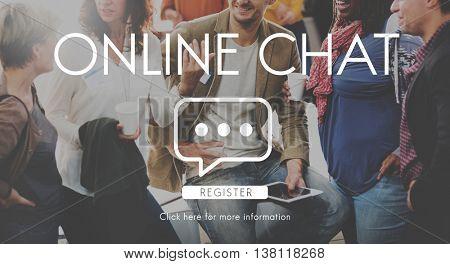 Communication Chat Connection Conversation Concept