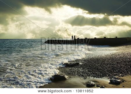 Coastleness Black sea in Crimea