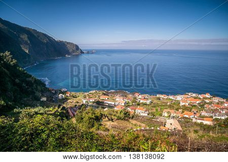 Picturesque Seixal In The North Of Madeira
