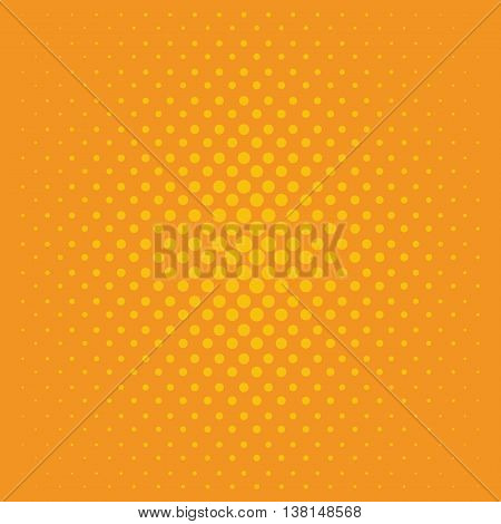 Dotted, Pop Art Background. Symbolic pop art background of 1960s. Comic design graphic halftone orange pop art background. Dot color bubble element blank communication set. vector pop art pattern background.