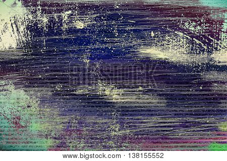 Abstract artistic indigo grunge copy space background
