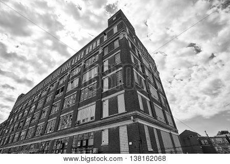 Abandoned Urban Factory - Worn, Broken, and Forgotten