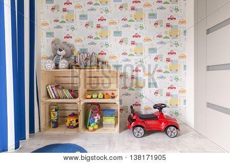 Room Designed For Little Boy