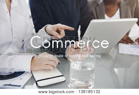 Commerce Consumerism Shopping Selling Retail Concept