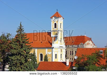 Church of St. Florian is a Baroque church in Varazdin Croatia