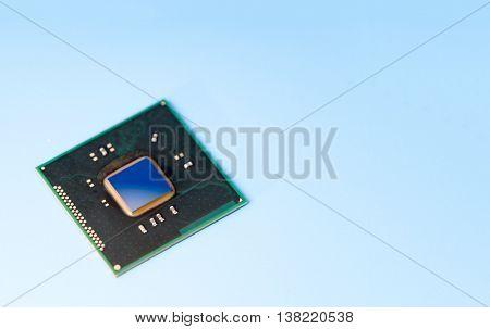 quantum computer IC. prototype / concept chip