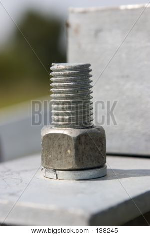 Metal Construction With Screw