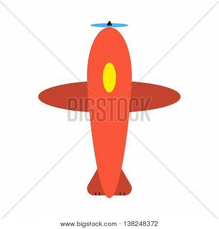 Cartoon Plane Top Vector Photo Free Trial Bigstock