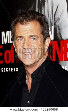 Mel Gibson at the Los Angeles premiere of 'Edge of Darkness' held at the Grauman's Chinese Theater in Hollywood, USA on January 26, 2010.