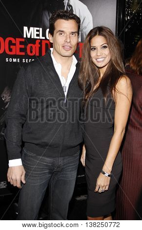 Antonio Sabato Jr. at the Los Angeles premiere of 'Edge of Darkness' held at the Grauman's Chinese Theater in Hollywood, USA on January 26, 2010.