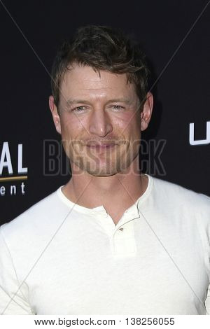 LOS ANGELES - JUL 11:  Philip Winchester at the  Undrafted Los Angeles Premiere  at the ArcLight Hollywood on July 11, 2016 in Los Angeles, CA