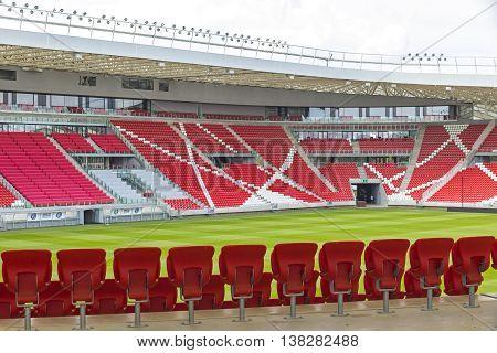 Nagyerdei Stadion In Debrecen City, Hungary