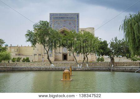 The Lyabi-Khauz Ensemble, Old Bukhara City, Uzbekistan