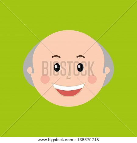 people icon design over white background, Vector illustration