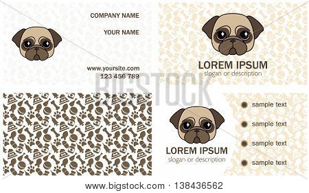 set design for the decoration of a small veterinary clinic kennel breeder animal shelter