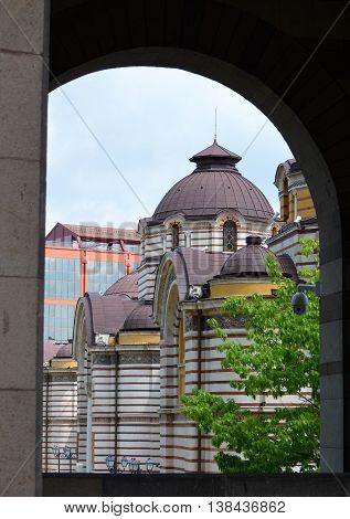 Sofia Central Mineral Baths House Exterior Architecture