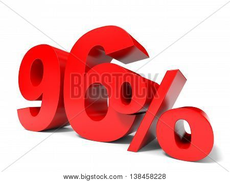 Red Ninety Six Percent Off. Discount 96%.