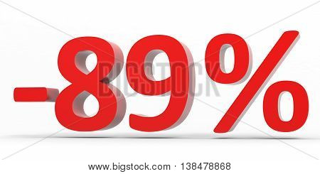 Discount 89 Percent Off Sale.