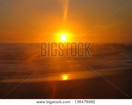 Sunset Over Blouberg Strand Cape Town South Africa 38
