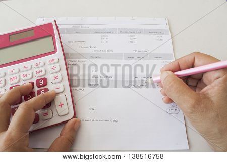 document monthly expenses credit card doing accounts