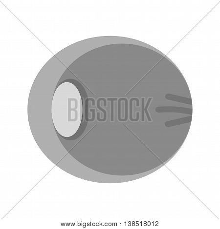 Human, optic, nerve icon vector image. Can also be used for human anatomy.