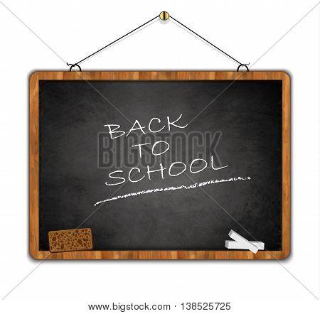 blackboard grunge, back to school, wood frame black smudge vector