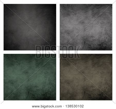 blackboard chalkboard background set collection grunge smudge vector scratched