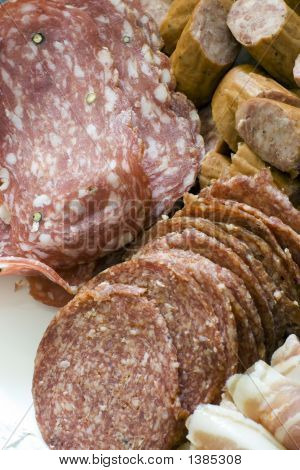 Antipasto; Various Meats