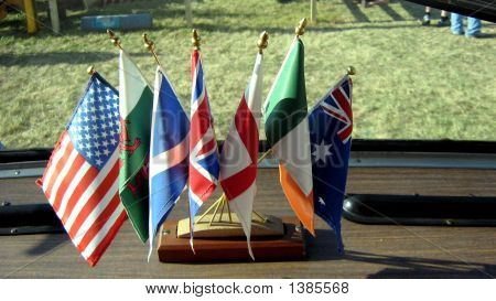 Flags On Dashboard