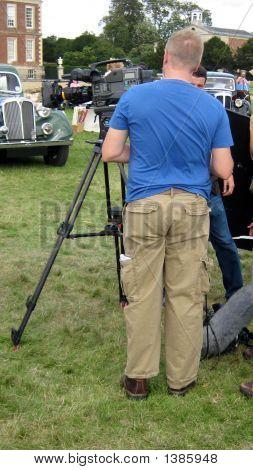 Film Crew On Site