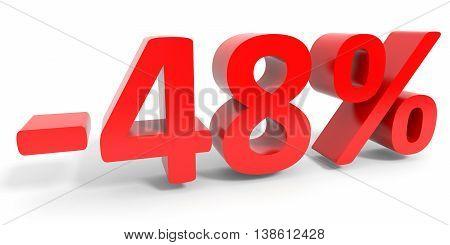 Discount 48 Percent Off Sale.