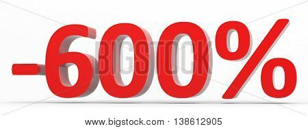 Discount 600 Percent Off Sale.