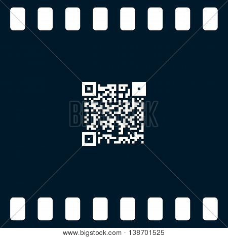 Simple Icon Qr Code