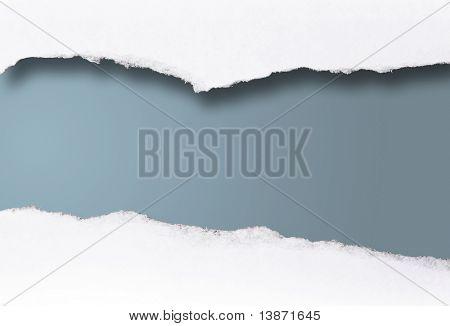 blank message scroll