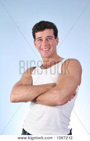 Smile Man In Underwaist