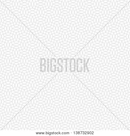 Seamless pattern. Simple linear texture in the form of a zigzag grids waves. Repeating geometric shapes thin lines zigzags. Monochrome. Backdrop. Web. Vector element of graphic design