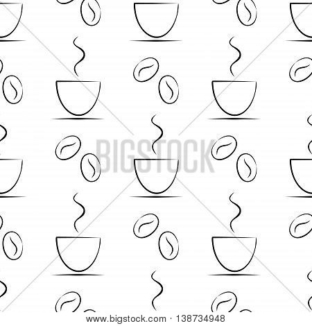 Vector Seamless Pattern. Graphic Illustration