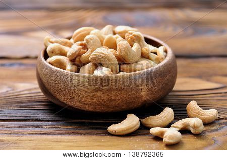 cashew nuts with sea salt, nut, food