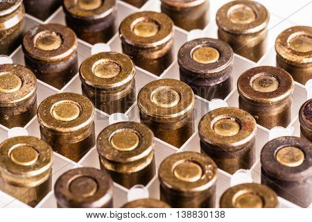 Old Weathered Bullets
