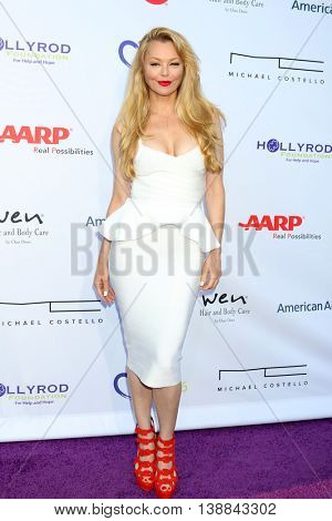 LOS ANGELES - JUL 16:  Charlotte Ross at the HollyRod Presents 18th Annual DesignCare at the Sugar Ray Leonard's Estate on July 16, 2016 in Pacific Palisades, CA