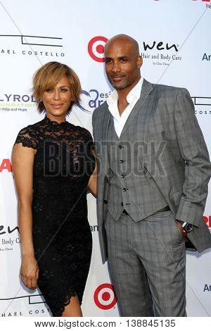 LOS ANGELES - JUL 16:  Nicole Ari Parker, Boris Kodjoe at the HollyRod Presents 18th Annual DesignCare at the Sugar Ray Leonard's Estate on July 16, 2016 in Pacific Palisades, CA