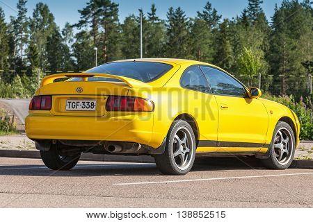 Toyota Celica Gt Liftback T200 Model