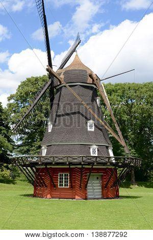 Old Windmill in Kastellet fortress, Copenhagen, Denmark