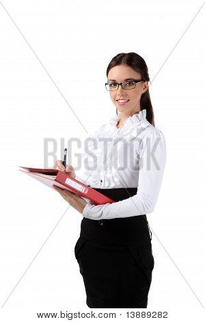 Girl Office Staff