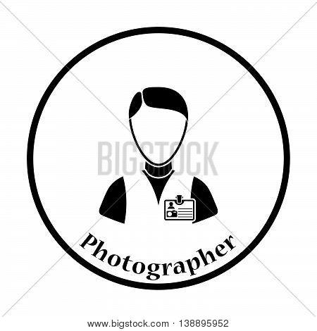 Icon Of Photographer