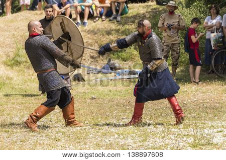 Ancient Duel Demonstration
