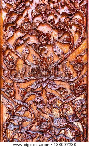 carved flowers Liana carved carved doors and windows.