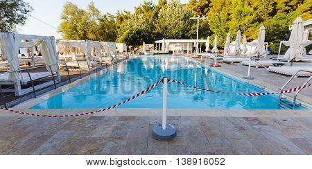Closed Swiming Pool